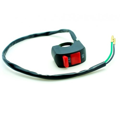 Motor Bike Handlebar Headlight Fog Spot Lightt On Off Switch