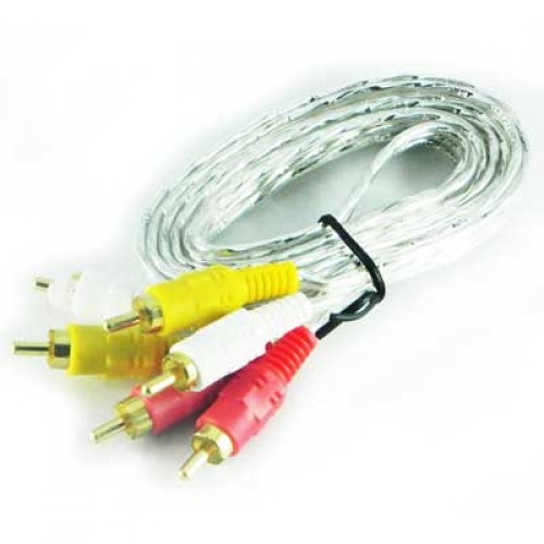 3 RCA Audio Video Cable High Quality Low Price