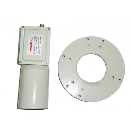 C-Band Dual Polarization and Single out LNB