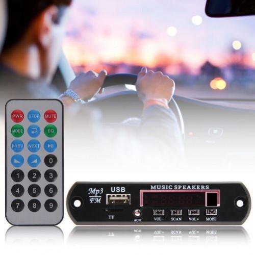 FM, USB,AUX,Card, MP3 Decoder Module, Panel & Remote New
