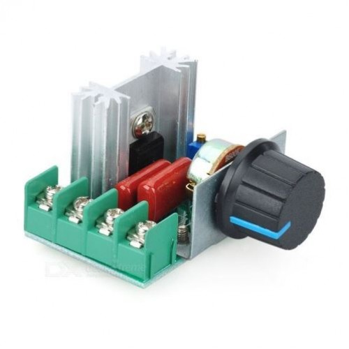 AC 220V 2000W SCR Voltage Regulator Dimming Dimmers Speed Controller