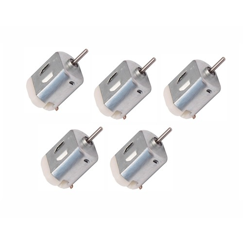 5 pcs Small DC Motor 6v, High-speed, for RC Toys and RC Cars