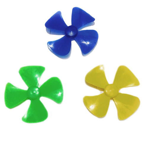Mini Fan propllers Blade, 3 Pieces RC Toys DIY Projects