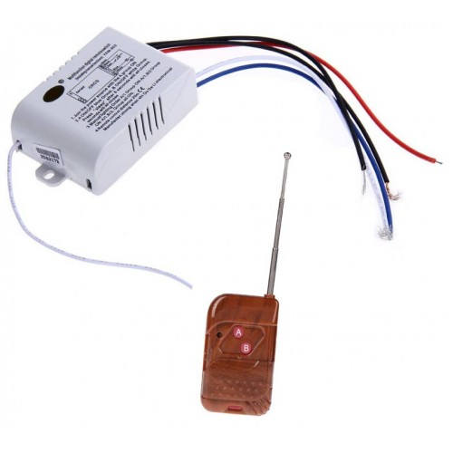 AC 220V Remote Control Switch ON/OFF Lamps/Fan or Any Other Load