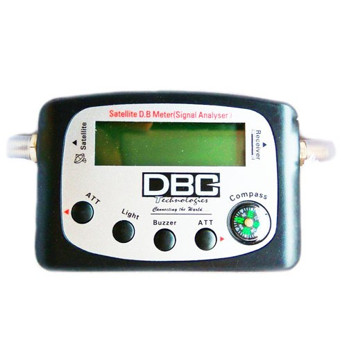 DBC Digital Satellite Signal Finder Meter For Sat Dish Antenna