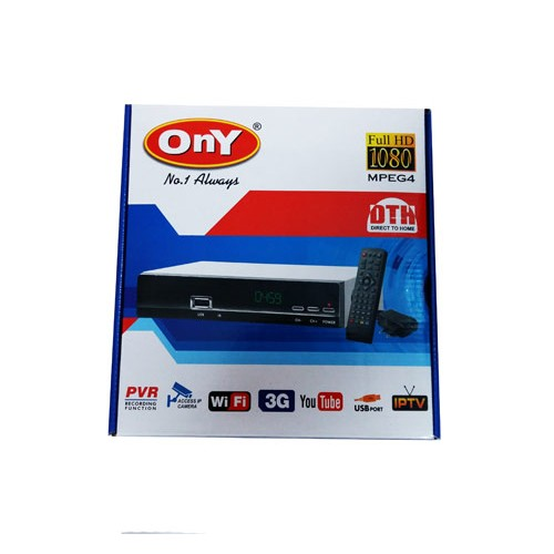 Ony Free To Air MPEG 4  BOX You Tube Full HD IP TV, WIfi, 3g, PVR