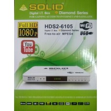 SOLID HDS2-6105 DIGITAL I.T BOX GAINGING ACCESS TO INTERNET AND SATTELLITE
