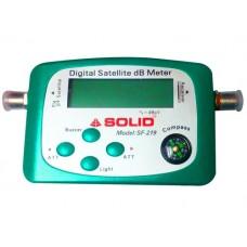 Solid SF-219 Digital Satellite Signal Finder dB Meter