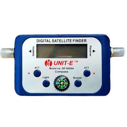 UNIT-E SF-9506A Digital Satellite Signal Finder Meter For Sat Dish