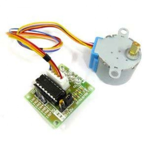 5V Stepper Motor 28BYJ-48 With Drive Test Module Board ULN2003 4 Phase